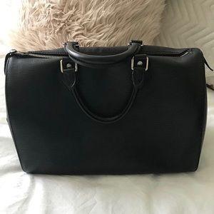 Louis Vuitton Speedy 35 Black Epi Leather
